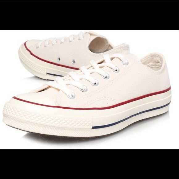 845903520fc3 Converse Shoes - White cream colored converse.